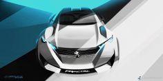 Peugeot Fractal Concept Explores EV Sound and 3D Printing Techniques « Form Trends