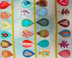 My folk-art imagery reflects my multi-cultural background and my fascination with folkart from around the world.  Inspiration comes from memories collected during my African childhood with its animals and grasslands, a sojourn in the green South of England and time spent in Connecticut, Tennessee, Utah and Ohio.