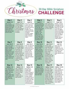 Take a journey over 30 days leading up to Christmas with a Christmas Bible story scripture challenge. Includes a FREE printable! Bible Study Plans, Bible Plan, Bible Study For Kids, Bible Study Tools, Bible Study Journal, Christmas Bible Study, Thanksgiving Bible Verses, Scripture Reading, Prayer Scriptures