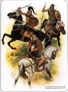 Iberian cavalry vs. a Roman equites