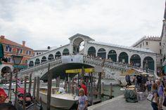 Venice, Italy - Rialto Bridge - over the Grand Canal (photo by Peggy Mooney)