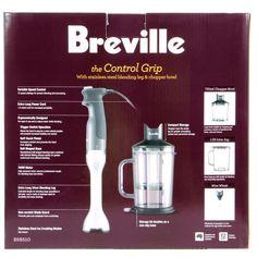 Breville Control Grip Stick Mixer | Blenders, Mixers & Food Pro Hand Mixer, Blenders, Mixers, Food, Essen, Yemek, Meals
