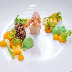 Avocado's _ Mango's _ Shrimp's  #cuisine #Afrofusion by #chefmalonga