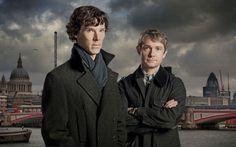 Sherlock, Benedict Cumberbatch, Martin Freeman