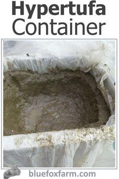 Hypertufa Container Driftwood Planters, Rustic Planters, Concrete Planters, Slab Pottery, Ceramic Pottery, Ceramic Bowls, Ceramic Art, Garden Junk, Garden Art
