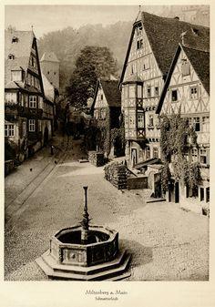 The Schnatterloch in Miltenberg (1931), Kurt Hielscher.