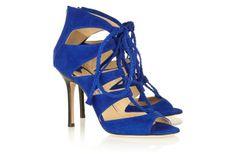 Algo Azul  #AlgoAzúl de JIMMY CHOO Zapatos del día #TuBoda