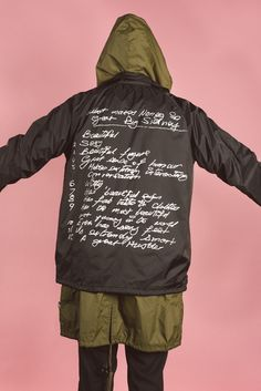 """Helmed by Alex James of Publish, Los Angeles-based new wave streetwear label PLEASURES introduces its """"Version 4.0″ collection for this season. Inspired by a specific time frame from 1994-1998. Drawing on a selection of niche cult classic material, the collection is composed of graphic typography and imagery printed against pastel and dark backgrounds on a range of perfect weight tees, clean sport caps, lightweight anorak jackets, coaches jackets and hoodies."""