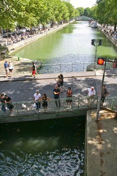 Day 4: Canal Saint-Marin in Paris (Balades urbaines de Nathalie à Toronto... et ailleurs: Paris, Jour 4 (3 août): Vers le Canal St-Martin)