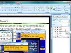 PowerPoint 2007 Tutorial #6: Secrets of Professional Presentations
