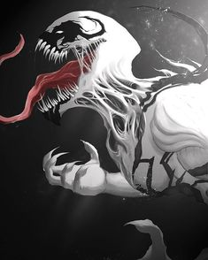 Marvel Universe 673428950509584552 - Anti Venom Art by Axura Xion Symbiote Pic Anti Venom aka the strongest of the three major Symbiotes .he once took on Venom and Carnage at the same time and tore them both to shreds! Venom Comics, Marvel Venom, Marvel Villains, Marvel Comics Art, Marvel Characters, Marvel Heroes, Rogue Comics, Ms Marvel, Captain Marvel