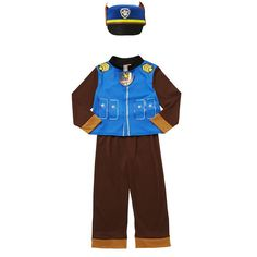 Paw Patrol Chase Fancy Dress Costume