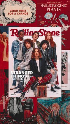 image Stranger Things Tumblr, Stranger Things Fotos, Finn Stranger Things, Stranger Things Aesthetic, Stranger Things Season 3, 90s Cartoons, Red Aesthetic, Series Movies, Cute Wallpapers