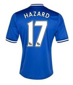 53aac874459da Chelsea (17 Hazard) Home Soccer jersey-Looking for designer 2013-2014  Chelsea
