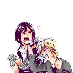 These two! Noragami