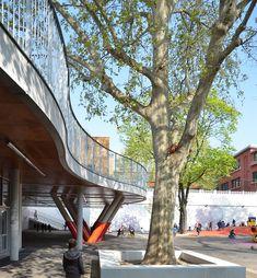 Galería de Escuela Sonia Delaunay / ADEN architectes - 8