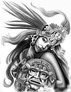 the sacrifice aztec mural Aztec Art, Warrior Tattoos, Mexican Art Tattoos, Lowrider Art, Art Tattoo, Chicano Art, Art, Mayan Art, Mexican Art