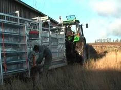 Ritchie Mobile Cattle Handling Crate (being set-up) Cattle, Crates, Cow, Monster Trucks, Channel, Dairy, Youtube, Animals, Animales