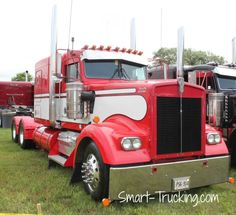 Very hot looking Kenworth custom show truck, Clifford Truck Show, Clifford, ON, 2013.