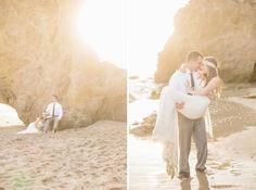 Malibu Beach Honeymoon Shoot | Whimsical Wonderland Weddings