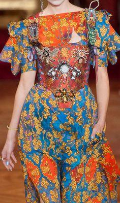 Vivienne Westwood at Paris Fashion Week Spring 2013