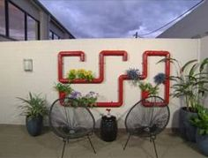 pipe vertical garden