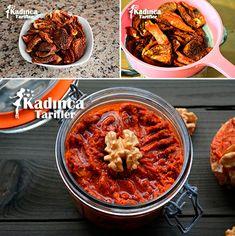 Kuru Domates Pestosu Tarifi Homemade Beauty Products, Chana Masala, Pesto, Chili, Brunch, Health Fitness, Soup, Healthy Recipes, Breakfast