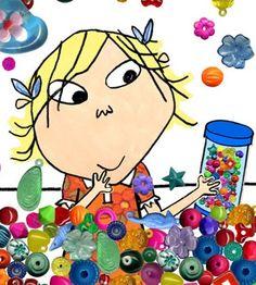 Charlie and Lola, Lola's beads