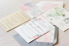 watercolor invites by www.erinbraundesign.com / http://twahdougherty.com/