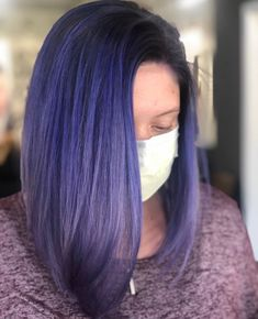 @lightinthedarkbeauty came to PLAY and SLAY with @pulpriothair of course 🎨. How stunning is this color 😍 #124FAM Mermaid Hair, New Trends, Slay, Long Hair Styles, Beauty, Color, New Fashion, Long Hairstyle, Colour