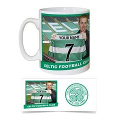Celtic Fc football gifts available now at www.totalgiftz.com Celtic Fc, Sports Gifts, Gifts For Boys, Football, Mugs, Tableware, Soccer, Dinnerware, Cups