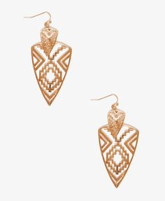 Southwestern-Style Cutout Earrings | FOREVER21 - 1027247806