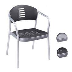 {체어스마트 powered by Chairstudio} Plastic Chair KC12(알류미늄)체어, 빈티지카페체어 CAFE Chair - Chairstudio