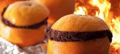 Orange Campfire Cakes