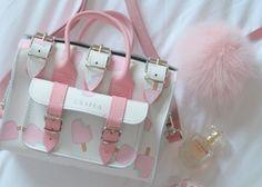 Girly Backpacks, Cute Mini Backpacks, Stylish Backpacks, Fashion Handbags, Purses And Handbags, Fashion Bags, Style Kawaii, Cute School Bags, Kawaii Bags