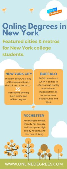 Are you confused about where and what to look for in an online degree program in #New #York? We have the answers here: