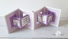 Newest Pics Paper Crafts cricut Concepts Seeking completely new create concepts? Without even making the home, you will find computer paper Fancy Fold Cards, Folded Cards, Tarjetas Diy, Diy Crafts To Do, Card Tutorials, Pop Up Cards, Paper Cards, Stamping Up, Baby Cards