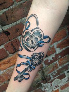 lock and key tattoos | Tumblr