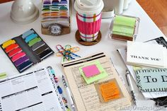 Planner Organization Ideas | Decorated Day Planner | InMyOwnStyle: