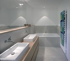 graues bad mit wei en elementen b der pinterest. Black Bedroom Furniture Sets. Home Design Ideas