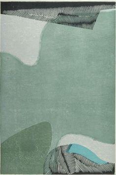 Masaji Yoshida, Moss (Koke) No. 1, c.1950, wooblock print