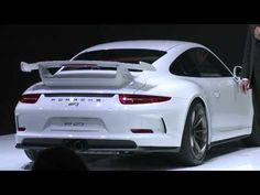 Porsche 911 GT3 (991) world premiere live video at 2013 Geneva Motor Show
