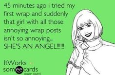 """When you wake up without saddlebags, cellulite, or stretch marks, """"Just call me Angel in the morning!"""" https://fit2wrap.myitworks.com/"""
