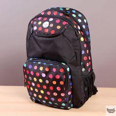 Plecak szkolny lub na wycieczkę Roxy Shadow Swell Gypsy Dots  / www.brandsplanet.pl / #roxy