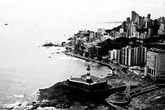 Salvador em Branco e Preto by Fernando Santos, via 500px