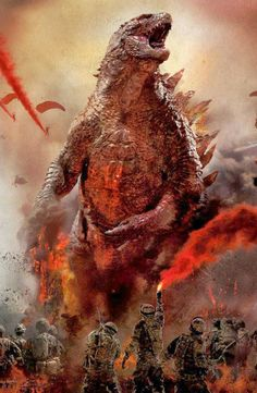 New international trailer and television spot for Gareth Edwards' Godzilla Cool Monsters, Classic Monsters, King Kong, Mini Poster, Cat Vs Dog, Movie Wallpapers, Anime Art, Movie Posters, Godzilla Tattoo