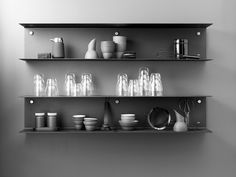 Vipp Shelf Is A Minimal Shelving System Designed By Danish Based Firm Vipp  Design Studios. The Shelfu0027s Simple, Yet Charming, Details Exemplify A  Timeless ...