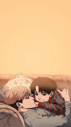 Fanarts Anime, Manga Anime, Anime Art, Anime Couples Manga, Anime Backgrounds Wallpapers, Animes Wallpapers, Sangwoo Killing Stalking, Arte Emo, Desenhos Love