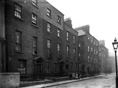 Waterford Street which no longer exists but joined Marlboro Street with lr.Gardiner Street. It was previously called Upper Tyrone Street and before that Upper Mecklenburg Street. The lane off the Street was called Hursts Lane and was known locally as Stable Lane.