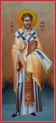 Eleutherios of Illyria   Byzantine Iconography Workshop - kopsidas.com